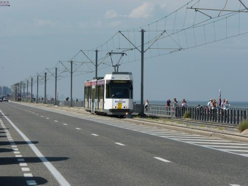 15/06/2012 - photo tram BN-ACEC 6025 De Lijn on route 0 in Ostend - Belgium