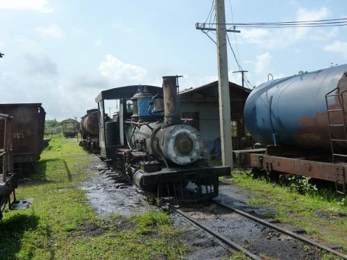 26/06/2013 - photo train à Rafael Freyre - Cuba