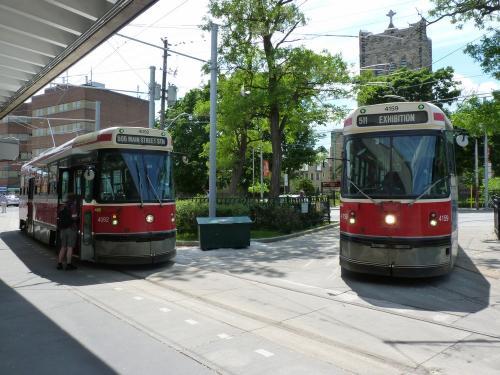 13/06/2014 - photo tram Canadian Light Rail Vehicle TTC in Toronto - Canada