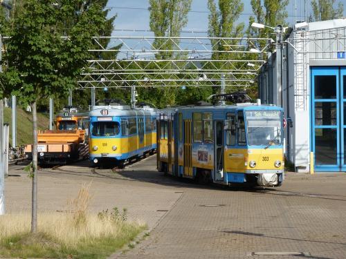 18/09/2015 - photo tram TWSB - Thüringerwaldbahn und Straßenbahn Gotha GmbH  à Gotha - Allemagne