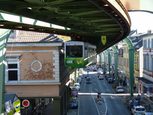 01/10/2011 - photo monorail 1 WSW - Wuppertaler Stadtwerke in Wuppertal - Germany