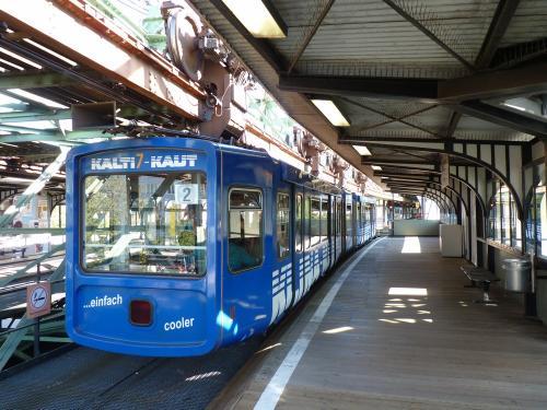 01/10/2011 - photo monorail WSW - Wuppertaler Stadtwerke in Wuppertal - Germany
