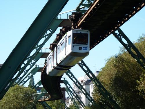 01/10/2011 - photo monorail WSW - Wuppertaler Stadtwerke in Wuppertal - Germany