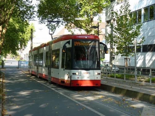 03/10/2011 - foto tram Bombardier Flexity Classic 24 DSW21 - Dortmunder Stadtwerke op lijn 044 in Dortmund - Duitsland