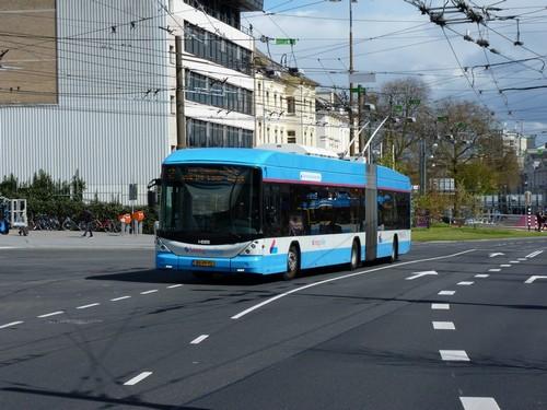 23/04/2016 - foto trolleybus Hess Swisstrolley 5237 Breng op lijn 2 in Arnhem - Nederland