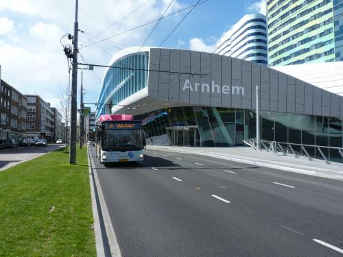 23/04/2016 - foto bus MAN Lion's City 5409 Breng op lijn 9 in Arnhem - Nederland