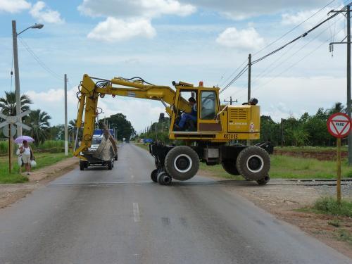 31/05/2014 - foto servicewagen in Guanajay - Cuba