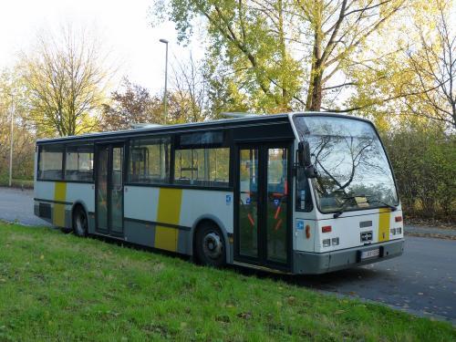 11/11/2016 - photo bus Van Hool A600 De Lijn à Gand - Belgique