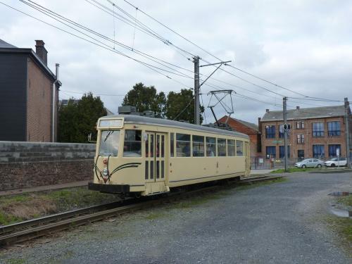 19/03/2017 - foto tram Type S Métro 9148 SNCV-NMVB op lijn 90 in Charleroi - Belgïe