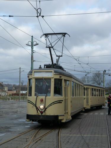 19/03/2017 - foto tram Type S Métro SNCV-NMVB in Charleroi - Belgïe