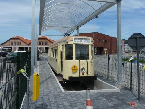 09/07/2017 - foto tram Type SE 9104 SNCV-NMVB op lijn G in Grimbergen - Belgïe