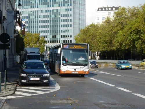 12/11/2017 - photo bus Mercedes-Benz Citaro 9126 STIB-MIVB à Bruxelles - Belgique