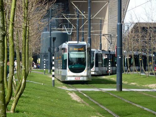 07/04/2018 - foto tram Alstom Citadis 2028 RET - Rotterdamse Elektrische Tram op lijn 23 in Rotterdam - Nederland