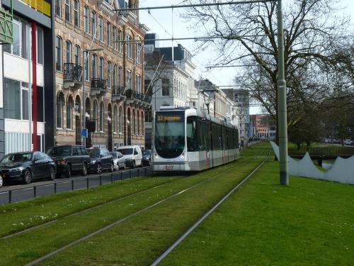 07/04/2018 - foto tram Alstom Citadis 2051 RET - Rotterdamse Elektrische Tram op lijn 23 in Rotterdam - Nederland