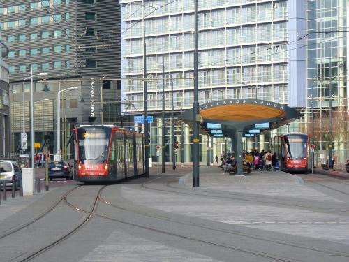 07/04/2018 - foto tram Siemens Avenio 5031 HTM Personenvervoer op lijn 9 in Den Haag - Nederland