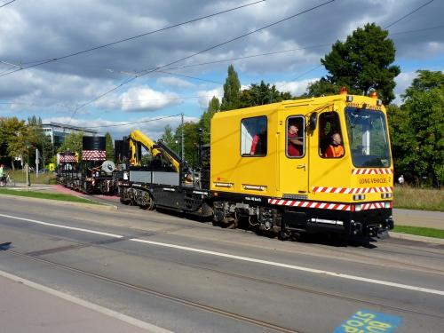 07/10/2012 - photo véhicule de service STIB-MIVB à Bruxelles - Belgique