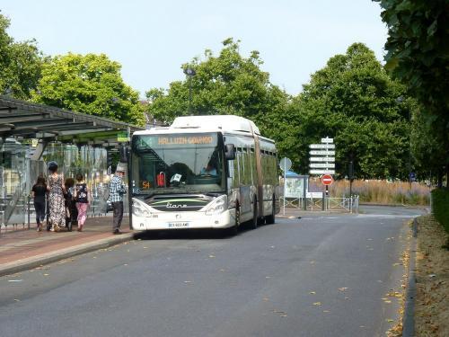 21/07/2018 - foto bus Irisbus Citelis 8695 Transpole op lijn L4 in Rijsel - Frankrijk