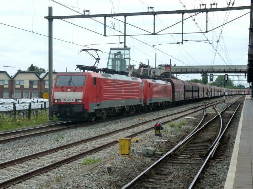 29/07/2018 - foto trein Siemens EuroSprinter 189 080-5 DB Cargo in Geldermalsen - Nederland