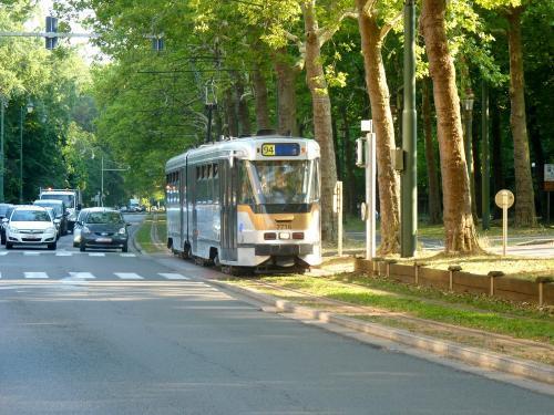 03/08/2018 - photo tram BN PCC7700 7716 STIB-MIVB sur la ligne 94 à Bruxelles - Belgique