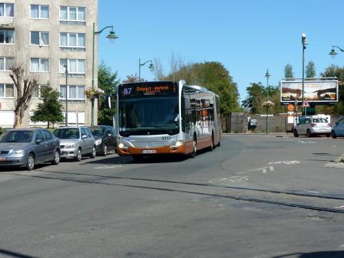 05/08/2018 - photo bus Mercedes-Benz Citaro 9117 STIB-MIVB sur la ligne 87 à Bruxelles - Belgique