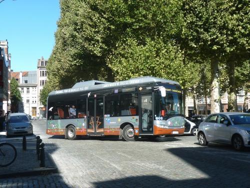 05/08/2018 - photo bus Solaris Urbino 1006 STIB-MIVB sur la ligne 33 à Bruxelles - Belgique