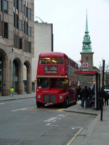 26/12/2014 - foto bus AEC Routemaster RM2089 TFL - Transfort For London op lijn 15 in Londen - Verenigd Koninkrijk