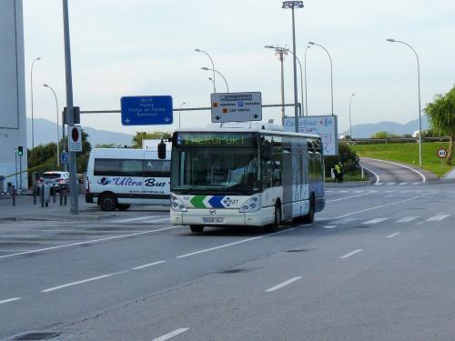 12/11/2018 - photo bus Irisbus Citelis 123 EMT Palma sur la ligne 1 à Palma - Espagne