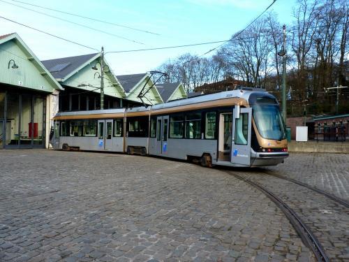 24/02/2019 - photo tram BN-ACEC T2000 2029 STIB-MIVB à Bruxelles - Belgique