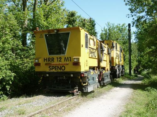 24/05/2015 - photo camion véhicule de service Speno à Bruxelles - Belgique