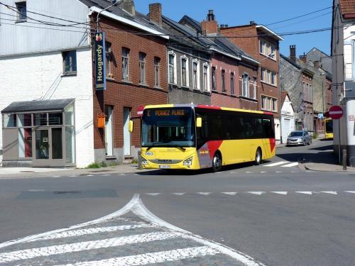 21/04/2019 - photo bus Iveco Bus Crossway 901147 TEC sur la ligne E à Wavre - Belgique