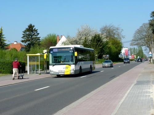 21/04/2019 - photo bus Iveco Bus Crossway 5712 De Lijn sur la ligne 344 à Overijse - Belgique