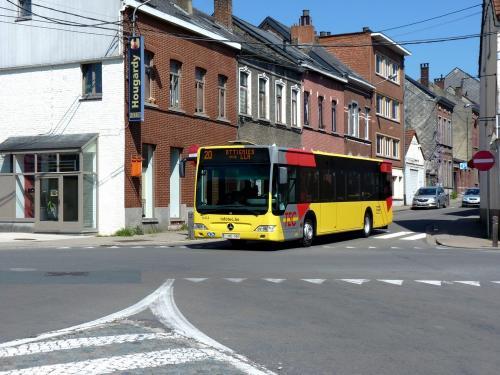 21/04/2019 - photo bus Mercedes-Benz Citaro 6414 TEC sur la ligne 20 à Wavre - Belgique