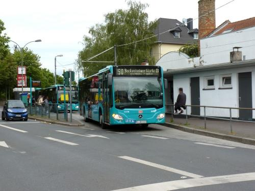30/05/2019 - photo bus Mercedes-Benz Citaro on route 50 in Frankfurt am Main - Germany