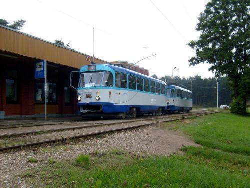 21/08/2010 - photo tram Tatra T3 51079 Rīgas satiksme sur la ligne 4 à Riga - Lettonie