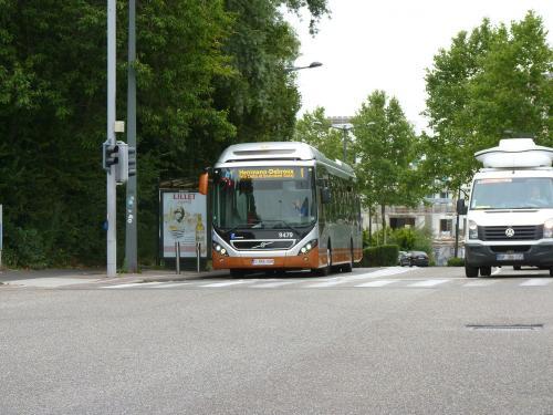 07/07/2019 - foto bus Volvo 7900 Hybrid 9479 STIB-MIVB op lijn 41 in Brussel - Belgïe