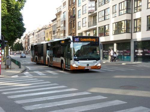 21/07/2019 - photo bus Mercedes-Benz Citaro 9139 STIB-MIVB sur la ligne 95 à Bruxelles - Belgique